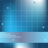 Abstract blue background. With copy space Stock Images