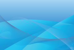 Abstract blue background. Abstract background for with waves and swirls pattern Stock Image