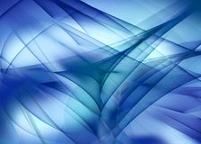Abstract blue background. Abstract blue and fairy background Stock Image