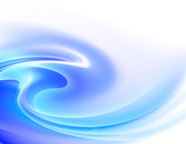 Abstract blue background. On white Stock Image