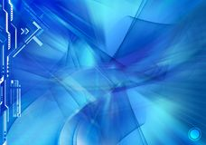 Abstract blue background. Abstract blue and fairy background Royalty Free Stock Photos
