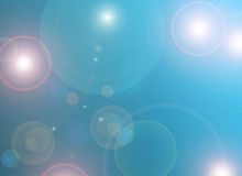 Abstract blue background. With circle Stock Photos