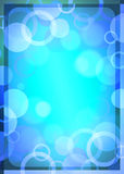 Abstract blue background. An illustration: abstract blue background Stock Image