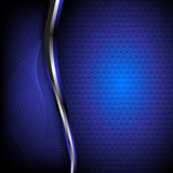 Abstract blue background. Clip-art Royalty Free Stock Images
