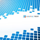 Abstract  blue  background. Abstract  blue  tech mosaic background Royalty Free Stock Photo