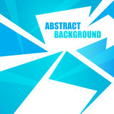Abstract blue background. Clip-art vector illustration