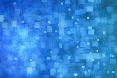 Abstract Blue Banner Background stock image