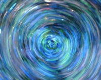 Abstract Blue Background. Created with swirling water and glitter Royalty Free Stock Photography