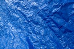 Abstract blue background. Plastic texture Royalty Free Stock Image