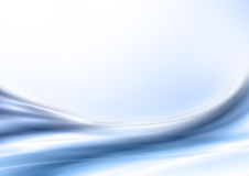 Abstract blue background. With wave Stock Photos