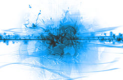 Abstract blue background Royalty Free Stock Photography