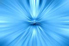 Abstract blue background. Abstract futuristic blue zoom background Royalty Free Stock Photography