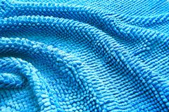Abstract Blue Background. Made from bath mat Royalty Free Stock Photography
