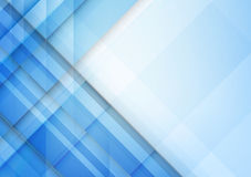 Abstract blue background with basic geometry overlaps and layere. D element vector eps 10 stock illustration