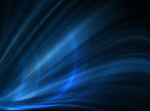 Abstract blue background. Beautiful lines and blur Royalty Free Stock Photography