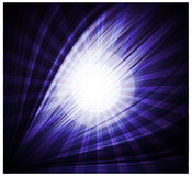 Abstract blue background Beautiful rays of light Royalty Free Stock Image