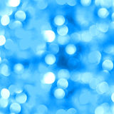 Abstract blue background with blur bokeh Stock Photos