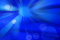 Abstract blue background with blurred lines Royalty Free Stock Image