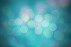 Abstract  blue background. And bokeh circles Stock Photos