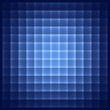 Abstract blue background. Bright blue squares. Geometric pattern in blue colors. Digital art vector illustration