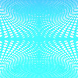 Abstract blue background circles wave Stock Photo