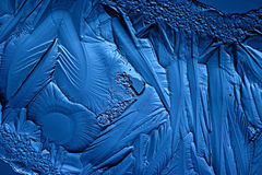 Abstract blue background cold ice texture Royalty Free Stock Photography