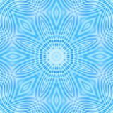 Abstract blue background with concentric ripples pattern. Abstract bright blue background with concentric ripples pattern royalty free illustration