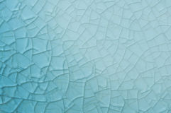 Abstract blue background with cracks Stock Images