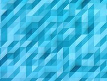 Abstract blue background, crumpled surface Royalty Free Stock Photos