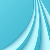 Abstract blue background with curved lines Royalty Free Stock Image