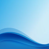 Abstract blue background dark curve layered and overlap. Illustration eps10 Stock Photo