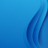 Abstract blue background dark curve layered and overlap vector. Illustration eps10 Royalty Free Stock Images