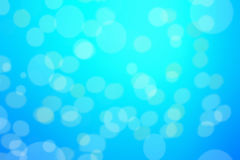 Abstract blue background with defocused bokeh, blur texture with Royalty Free Stock Image