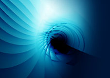 Abstract blue background for design Stock Photos