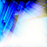 Abstract blue background. Royalty Free Stock Image