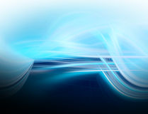 Abstract blue background fo design Stock Images