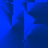 Abstract blue background Stock Photography