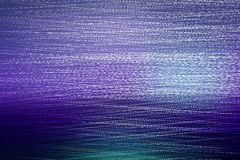Abstract blue background of glowing lines Stock Image