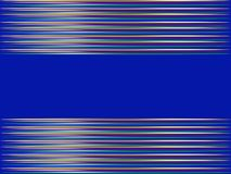 Abstract blue background in horizontal stripes. Abstract blue background with horizontal wide stripe in the middle for your inscription Royalty Free Stock Images