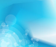 Abstract blue background. Illustration of abstract blue background with bokeh effect Stock Photography