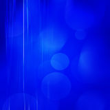 Abstract  blue Background. Of lights in abstract shapes Stock Photography