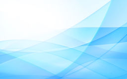 Abstract blue background with line. Vector illustration Stock Photography
