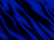 Abstract blue background luxury cloth or liquid wave of grunge silk texture satin velvet material or luxurious close up Stock Images