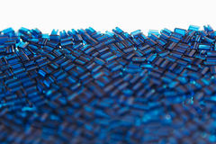 Abstract blue background with a mosaic pattern. Stock Photos
