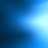 Blue geometric abstract background Royalty Free Stock Images