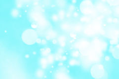 Abstract blue background. Natural blue blur abstract christmas background with selective focus Stock Images