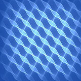 Abstract blue background pattern. Bright blue swirling lines. Royalty Free Stock Image