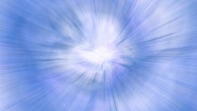 Motion blur blue pattern. Raster illustration Stock Images