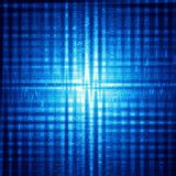 Abstract blue background with shining squares Royalty Free Stock Image