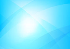 Abstract blue background with simply curve lighting element   Royalty Free Stock Images